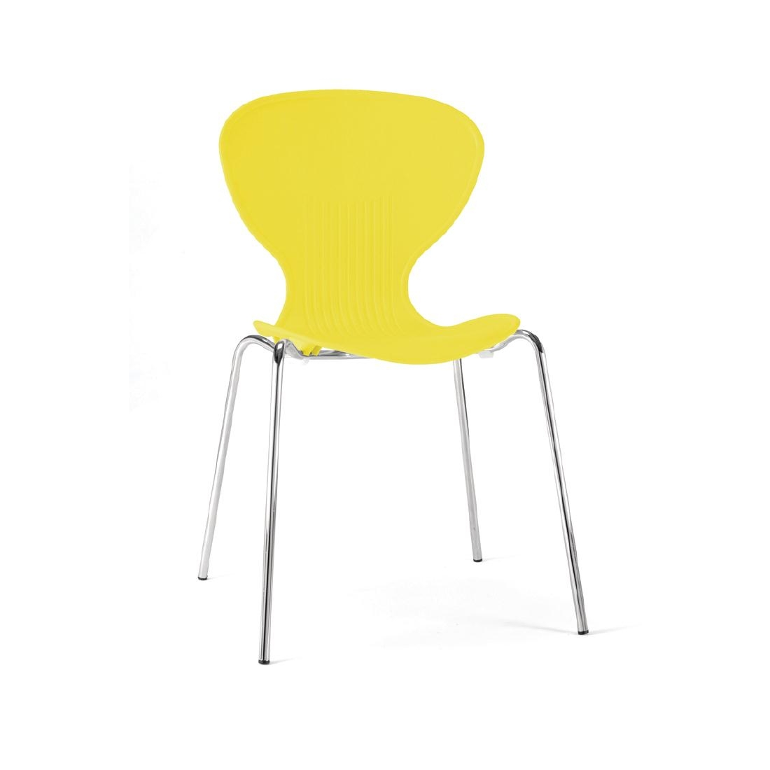 Colour Range Polypropylene Chairs - Yellow