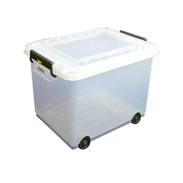 Food storage Container with wheels and lid - 50 Litres