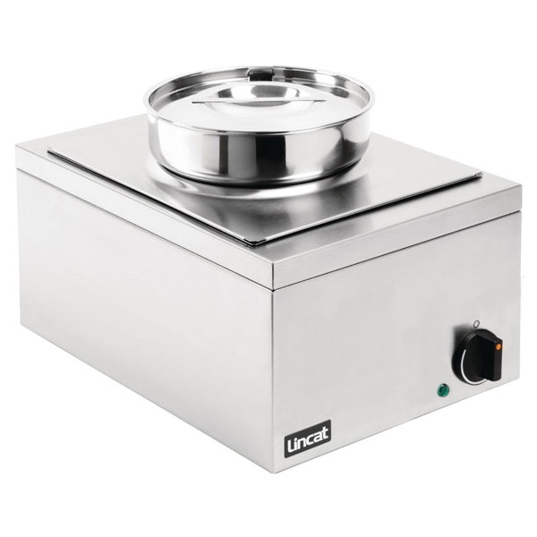 Lincat Lynx 400 Bains Marie with One Stainless Steel Round Pot