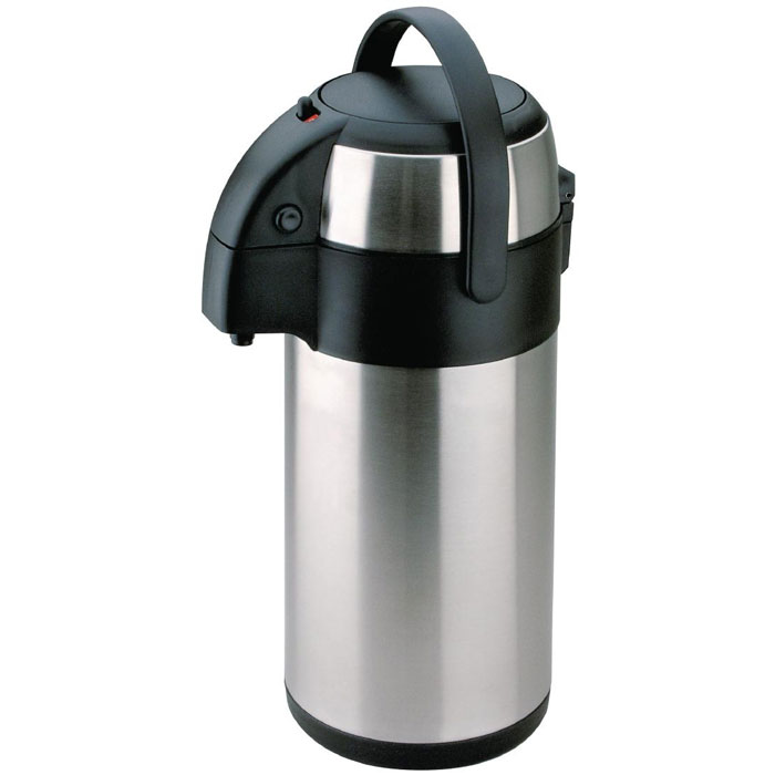 Stainless Airpot / Pump Pot 2.5 Litres