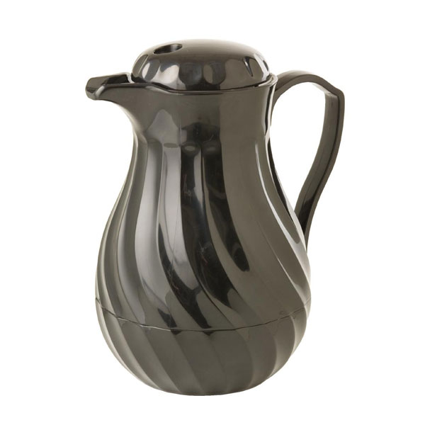 Insulated Coffee Jug 1.8 lts / 64oz Black Kinox