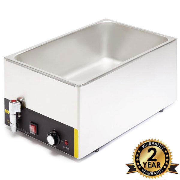 Bain Marie - Wet Gastronorm 1/1 With Tap