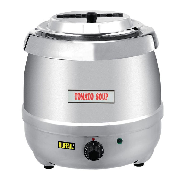 Electric Soup Kettle Stainless Steel.