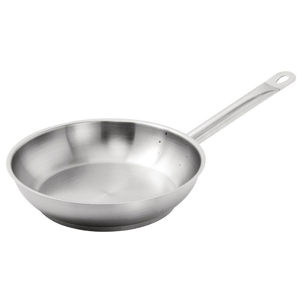 Vogue Stainless Steel Frypan 240mm