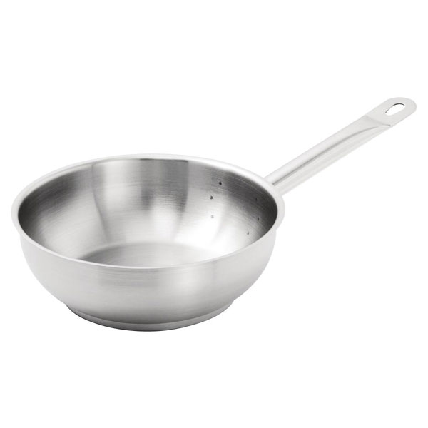 Vogue Stainless Steel Saute Pan 200mm.