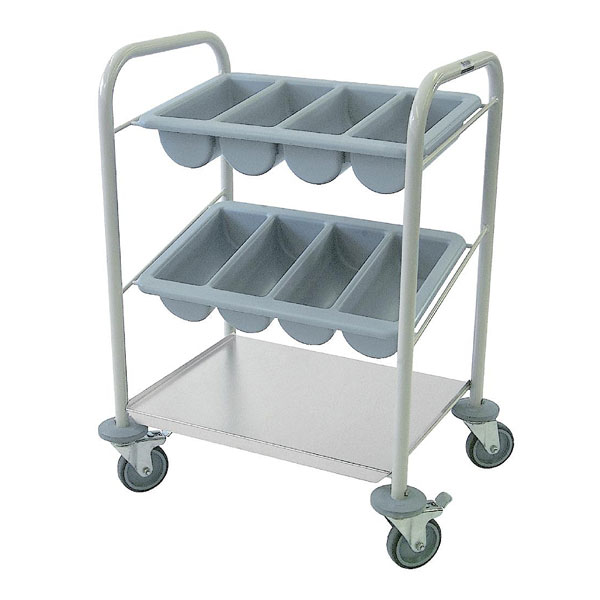 Cutlery Trolley 655mm(w) x 495mm(d) x 980mm(h)