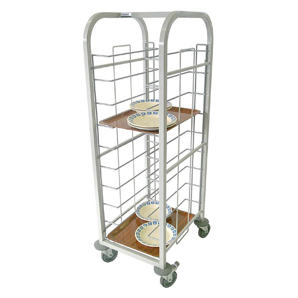 Tray Clearing Trolley - 10 Trays