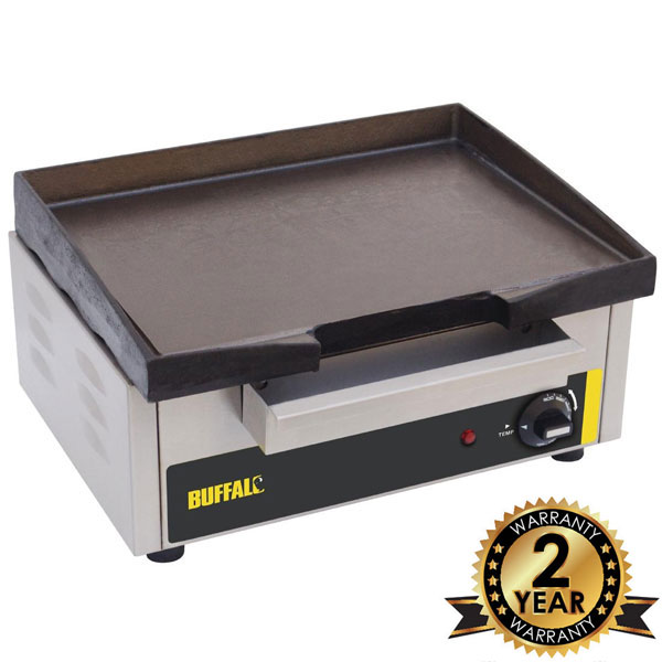 Countertop Electric Griddle 1.8 kW.