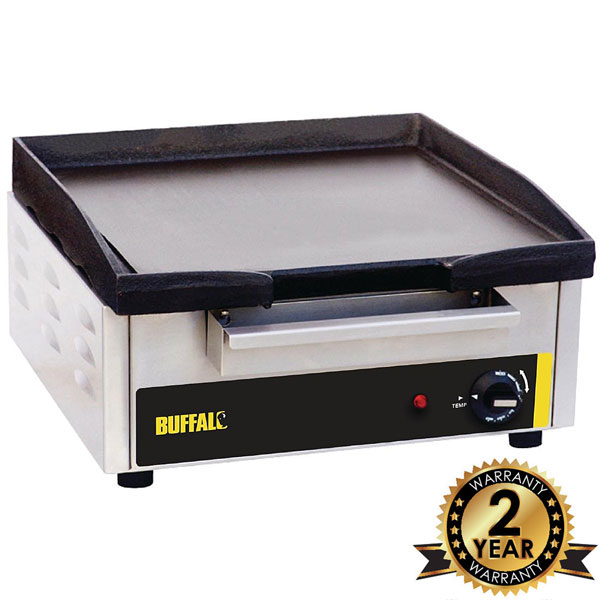 Countertop Electric Griddle 2.8 kW.