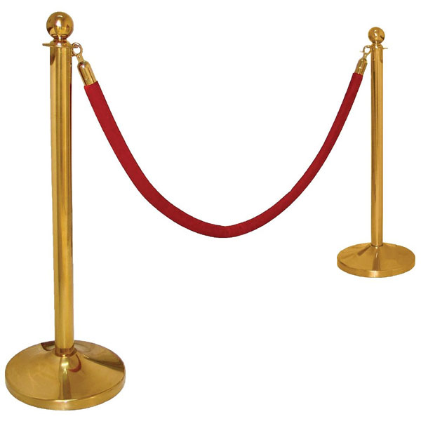 Brass Barrier Post System