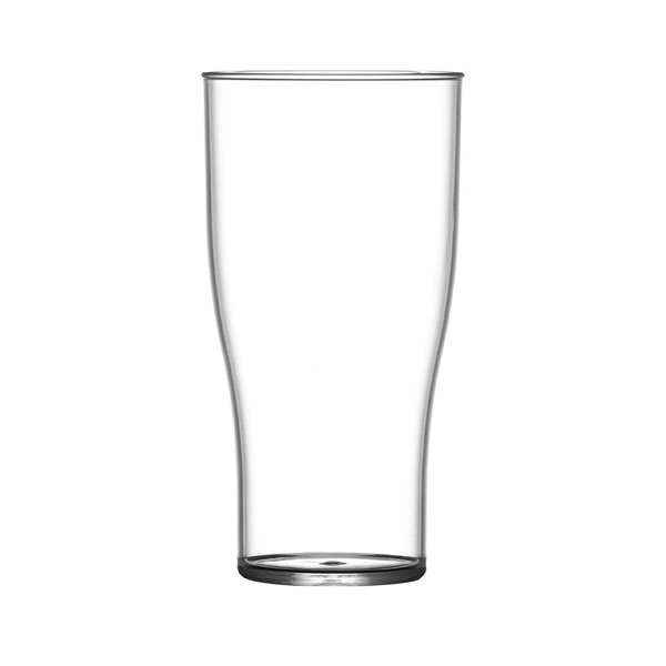48 Half Pint Glasses - Polycarbonate - CE Marked