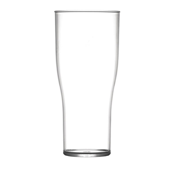 48 Pint Glasses - Polycarbonate - CE Marked