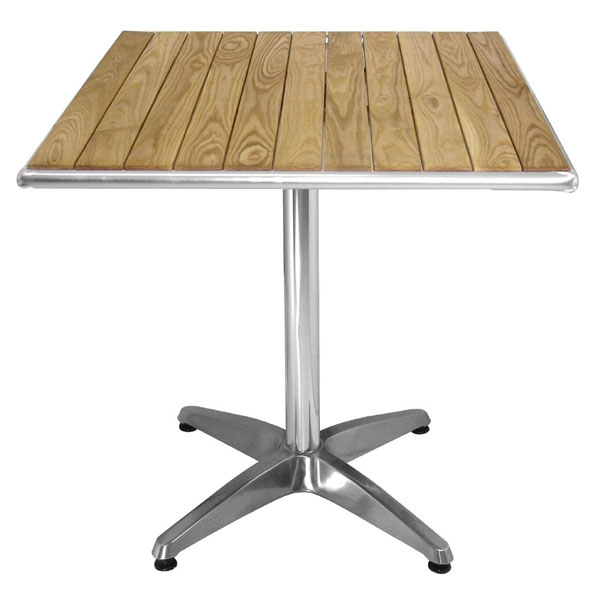Ash Top Table. Square. Indoor/outdoor use. 60cm. (tables)