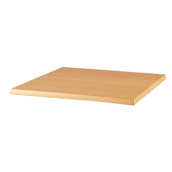 Inter Change Range - Table Top, Square Light Beech colour Lamina