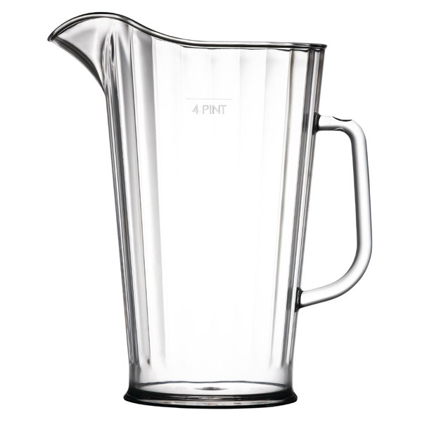 4 Pint Polycarbonate Jug/Pitcher (CE stamped)