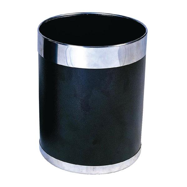 Hotel room waste paper bin ry805 furniture by bolero for Gold bathroom bin