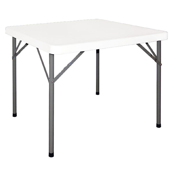 Folding Square Table 0.88MTS (tables)