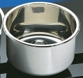 Cylindrical Sink Stainless 300mm dia 120mm deep (round sinks) HT