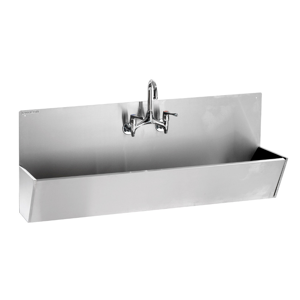 Wash Trough/Scrub Sink 600mm width