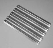 Fluted Baking Tray For Baguettes. 4 x Flutes GN1/1 530mm x 325mm