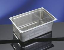 Perforated Base & Sides Gastronorm Pan - 1/2 Size 200mm deep