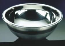 Hemispherical Sink stainless 200mm dia 115mm deep (round sinks) HTM 64