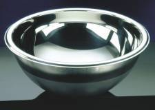 Hemispherical Sink stainless 420mm dia 160mm (round sinks) HTM 64